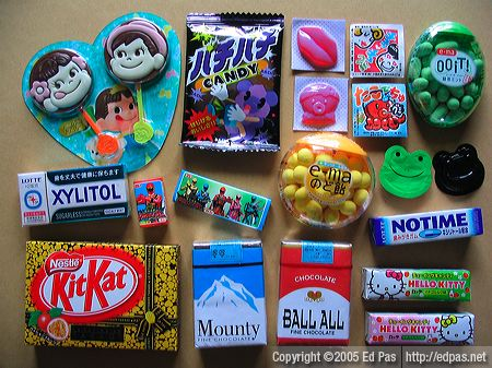 assorted candies and chocolates