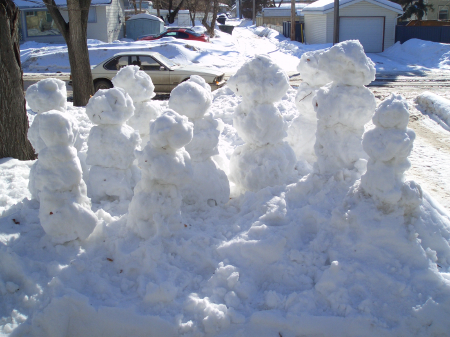snow sculpture view 1