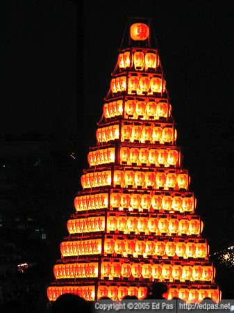 a twelve-layer lantern float