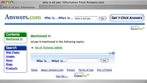 answers.com: who is ed pas